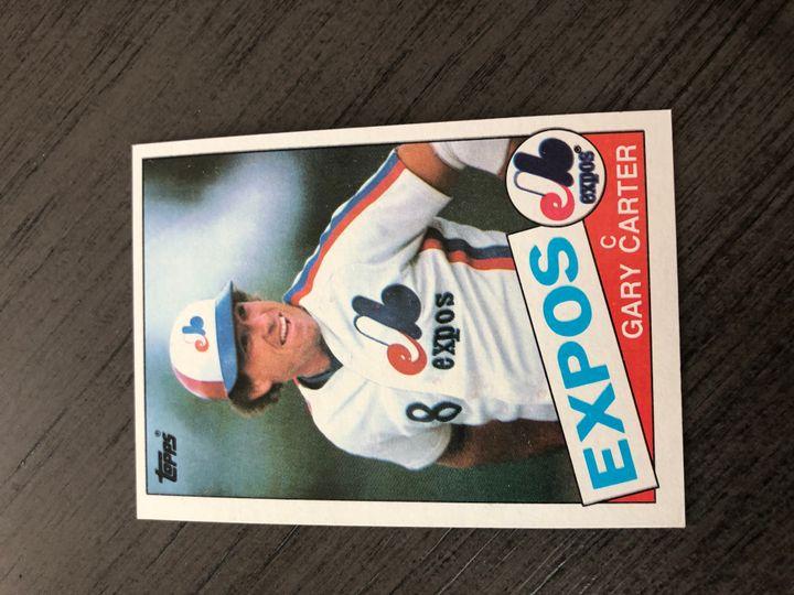 1985 TOPPS GARY CARTER 230 Item Image