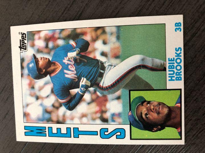 1984 TOPPS HUBIE BROOKS 368 Item Image