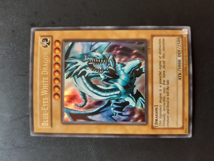 Yu-gi-oh LOB-E001 BLUE-EYES+ LOB-E003 dark magician+ LOB SR/R bundle Item Image